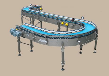 Back-up roller conveyor 1 -
