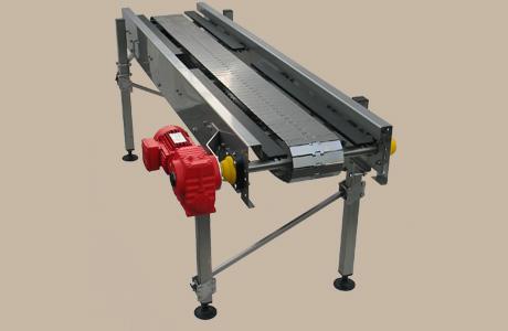 Flat top chain conveyor 1 -