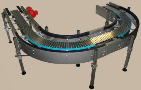 Flat top chain conveyor 2 -