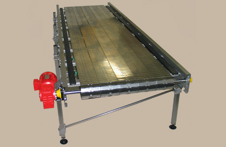 Flat top chain conveyor 3 -