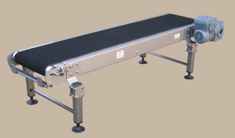 Rubber belt conveyor 1 -