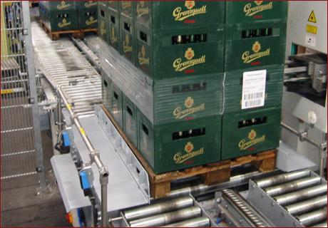 Pallet centring device 2 - Pallet centring device