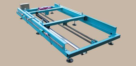 Pallet travelling conveyor 1 -