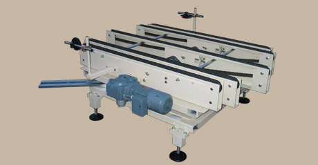 Pivoted table - chain conveyor 1 -