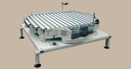 Pivoted table - roller conveyor - 180 degree 1 -